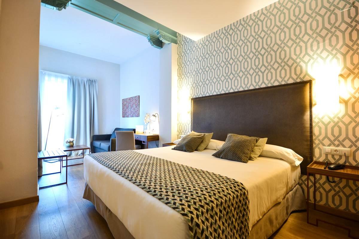 Habitación Junior Suite en hotel de Sevilla